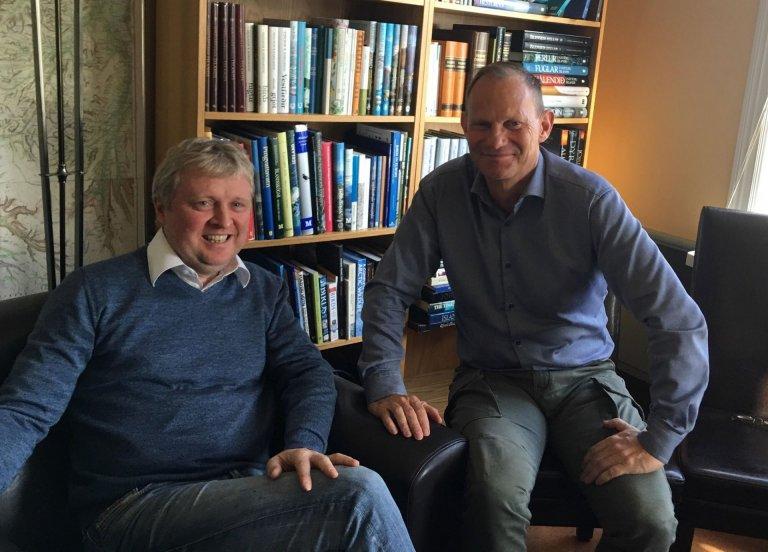 Bjarni Jónsson og Áki Ármann Jónsson